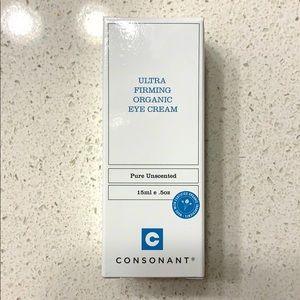 Consonant Ultra Firming Organic Eye Cream NWT
